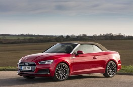 Audi A5 Cabriolet, 2017, front