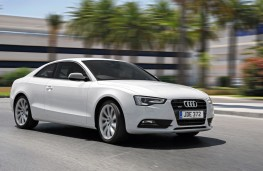 Audi A5 Coupe, front, action