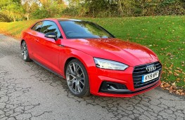 Audi A5 Coupe, 2019, front