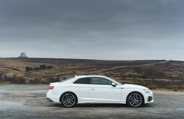Audi A5 Coupe, 2021, side