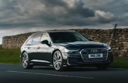 Audi A6 Avant, 2018, front