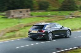 Audi A6 Avant, 2018, rear, action