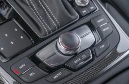 Audi A6, centre console controls