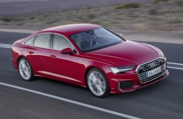 Audi A6, 2018, front