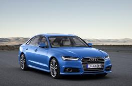 Audi A6, 2017, front