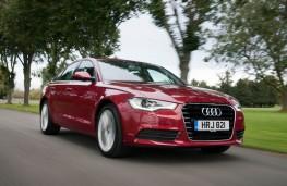 Audi A6, front, action