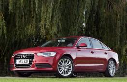 Audi A6, front