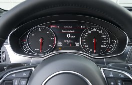 Audi A6, instruments
