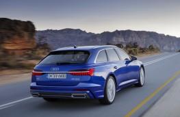 Audi A6 Avant, 2018, rear
