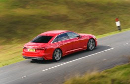 Audi A6, 2018, rear