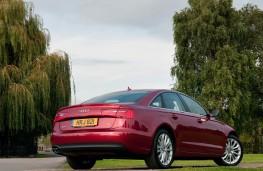 Audi A6, rear