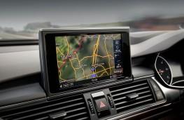 Audi A6, sat nav