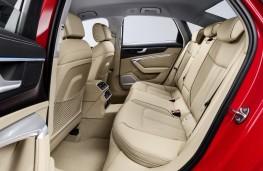 Audi A6, 2018, rear seats