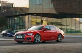 Audi A6, 2018, side