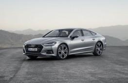 Audi A7, 2018, front