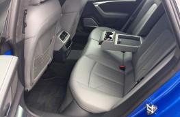 Audi A7 Sportback, 2018, rear seats