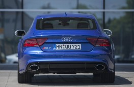 Audi A7 Sportback, 2016, tail