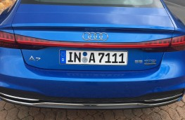 Audi A7 Sportback, 2018, tail lights