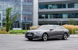 Audi A8, 2018, front
