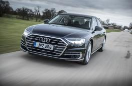 Audi A8, front