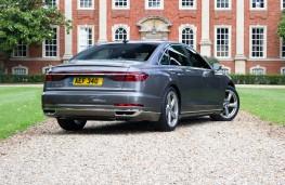 Audi A8, 2018, rear