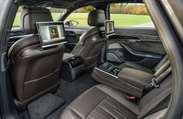 Audi A8, 2018, rear seats