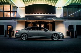 Audi A8, 2018, side