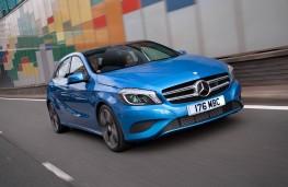 Mercedes A-Class, front, action