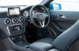 Mercedes A-Class, interior