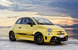 Abarth 595, 2016, front