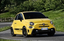 Abarth 595, 2016, front, static