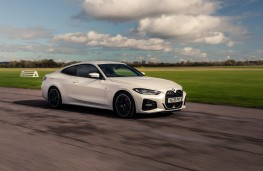 BMW 4 Series Coupe, 2021, front