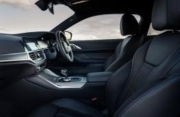 BMW 4 Series Coupe, 2021, interior
