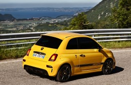 Abarth 595, 2016, rear, action