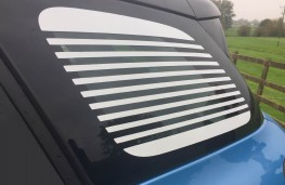 Citroen C3 Aircross Flair PureTech 110 Auto, 2017, Venetian blind window