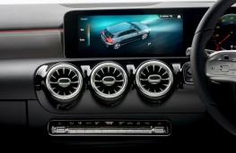 Mercedes-Benz A-Class, 2018, ventilation controls