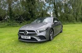 Mercedes-Benz A 200 d, 2021, front