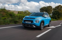 Citroen C3 Aircross, 2017, front, action
