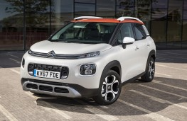 Citroen C3 Aircross, front, static