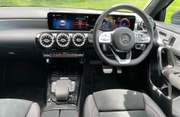 Mercedes-Benz A 200 d, 2021, interior