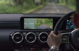 Mercedes-Benz A-Class, 2018, sat nav