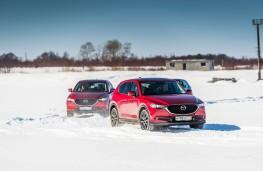 Mazda CX-5, Siberia, 2018, convoy