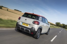 Citroen C3 Aircross, rear, action