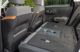 Citroen C3 Aircross, 2017, rear seats, folded