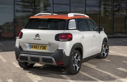 Citroen C3 Aircross, 2017, rear, static
