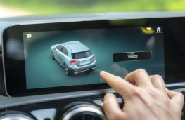 Mercedes-Benz A-Class, 2018, display screen