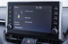 Mercedes-Benz A-Class, 2018, sat nav display