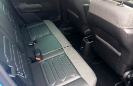 Citroen C3 Aircross Flair PureTech 110 Auto, 2017, rear seats