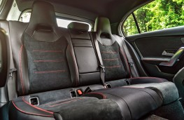 Mercedes-Benz A-Class, 2018, rear seats