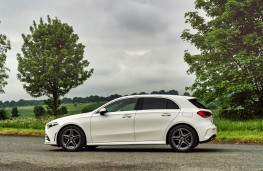 Mercedes-Benz A-Class, 2018, side
